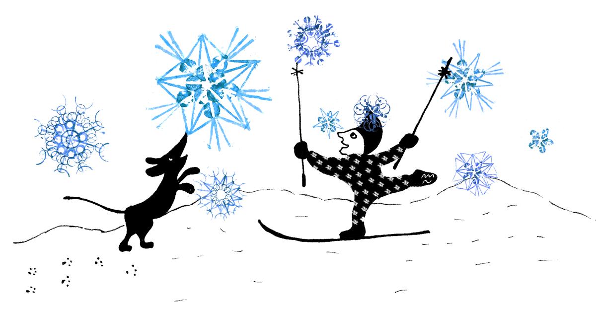 Poprvé na lyžích – jak na to hravě?